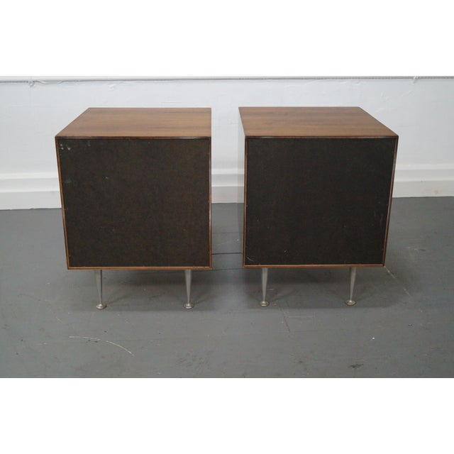 George Nelson Miller Rosewood Nightstands - Pair - Image 4 of 10