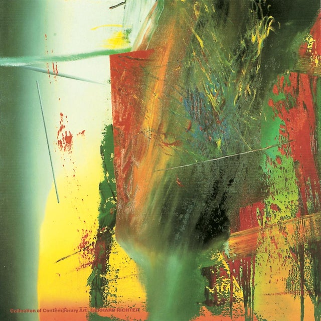 Abstract Expressionism Bundle- 3 Assorted Gerhard Richter Oversized Posters For Sale - Image 3 of 3