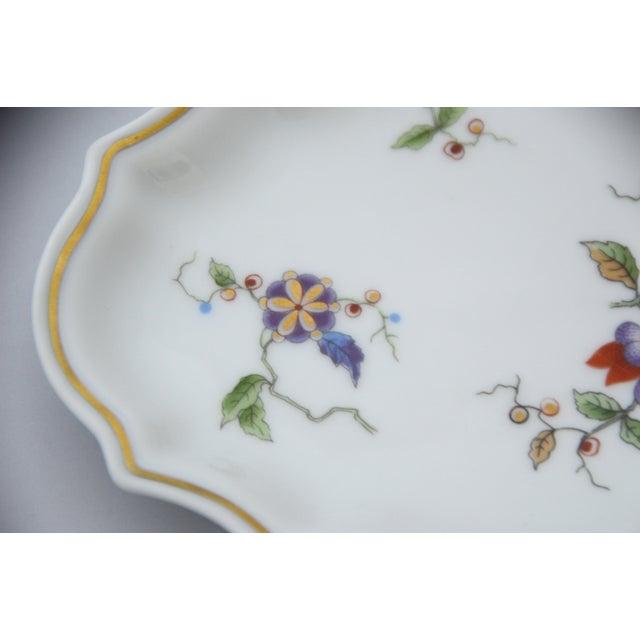 Italian Richard Ginori Oriente Italian Porcelain Soap Dish For Sale - Image 3 of 7