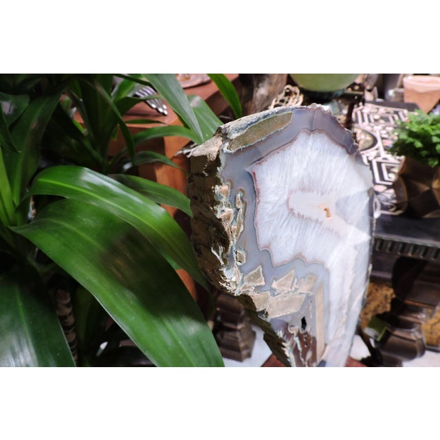 15th Century & Earlier Polished Shooting Star Agate Slab For Sale - Image 5 of 6