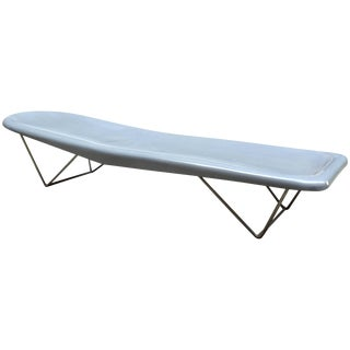 Modern Fibrella Poolside Chaise in the Style of Harry Bertoia for Knoll For Sale
