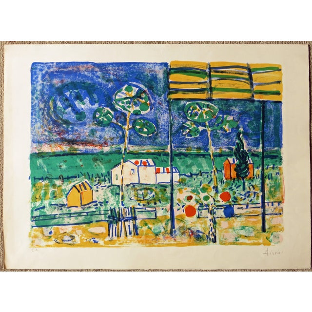 St. Tropez Lithograph by Paul Aizpiri - Image 2 of 5