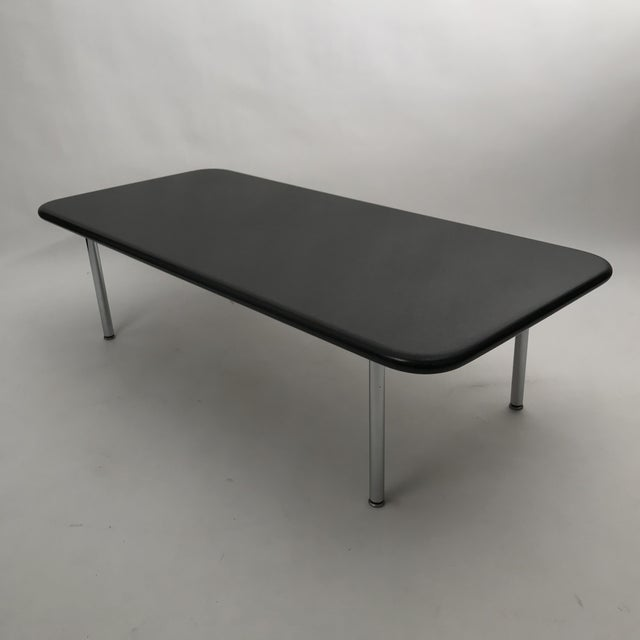 Silver Rare George Nelson Granite Coffee Table For Sale - Image 8 of 10