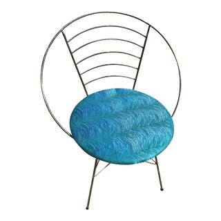Mid-Century Atomic Circular Chair For Sale