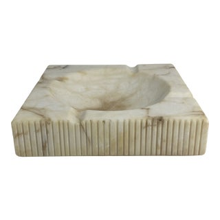 1970s Italy Marble Ashtray Catchall For Sale