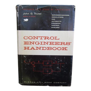 1950s Vintage Engineer Textbook: Control Engineer's Handbook For Sale