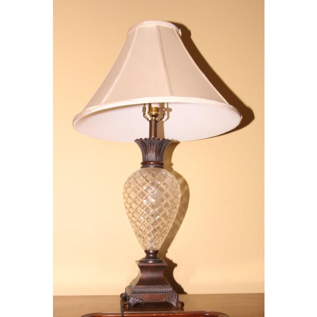 Ethan allen pineapple lamp image 2 of 4