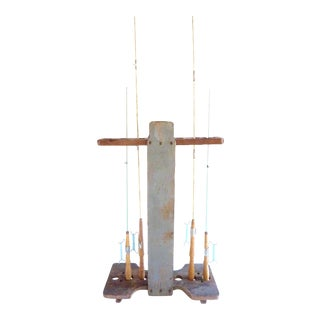 Vintage South Bend Croquet/Fishing Rod Stand For Sale