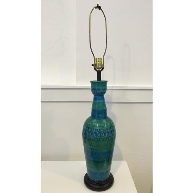 Bitossi Ceramiche Art Pottery Lamp - Image 2 of 9