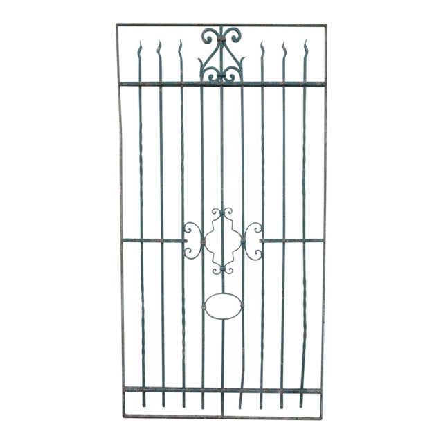 Antique Victorian Iron Gate - Image 1 of 8