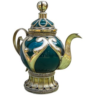 Ceramic Filigree Kettle For Sale