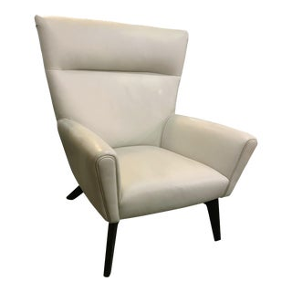 Room & Board Boden Beige Leather Chair