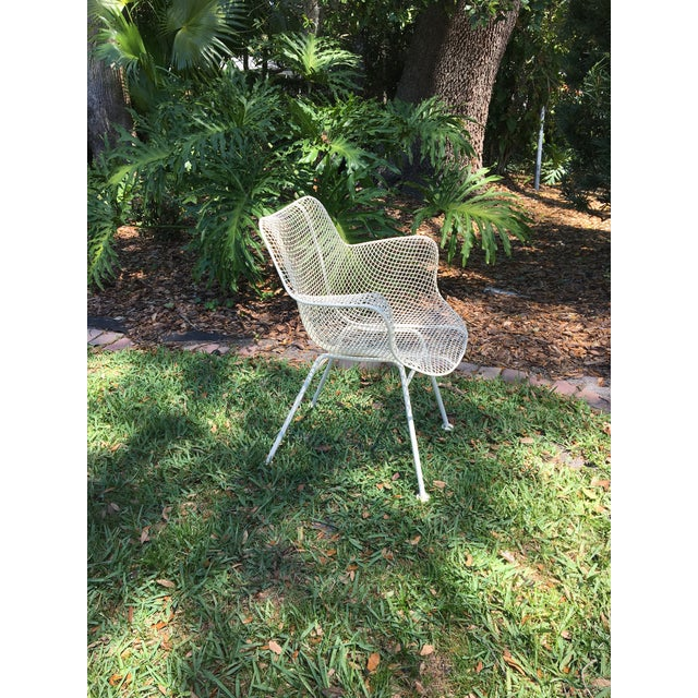 russell woodard wire mesh chairs a pair chairish