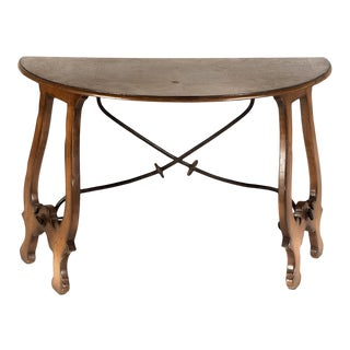 18th Century Baroque Style Console Table in the Spanish Taste For Sale