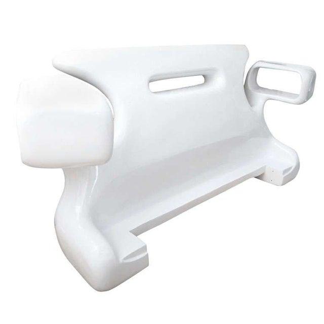 Jordan Mozer White Headboard - Image 1 of 9