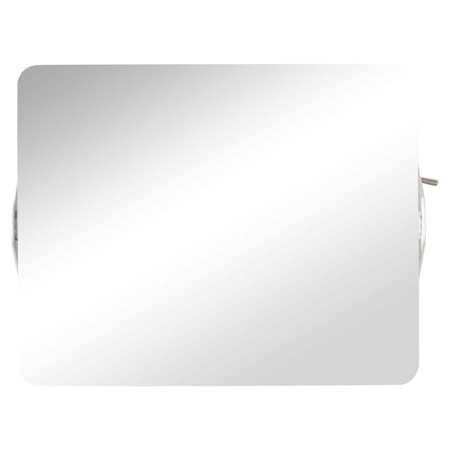 Charlotte Perriand Mirrored 'Applique á Volet Pivotant' Wall Lights For Sale In Los Angeles - Image 6 of 7