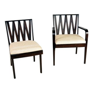 Paul Frankl Dining Chairs - Set of 6 For Sale