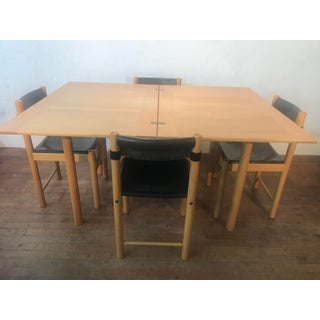 1980s Mid-Century Modern Ibisco Sedie Dining Set - 5 Pieces Preview
