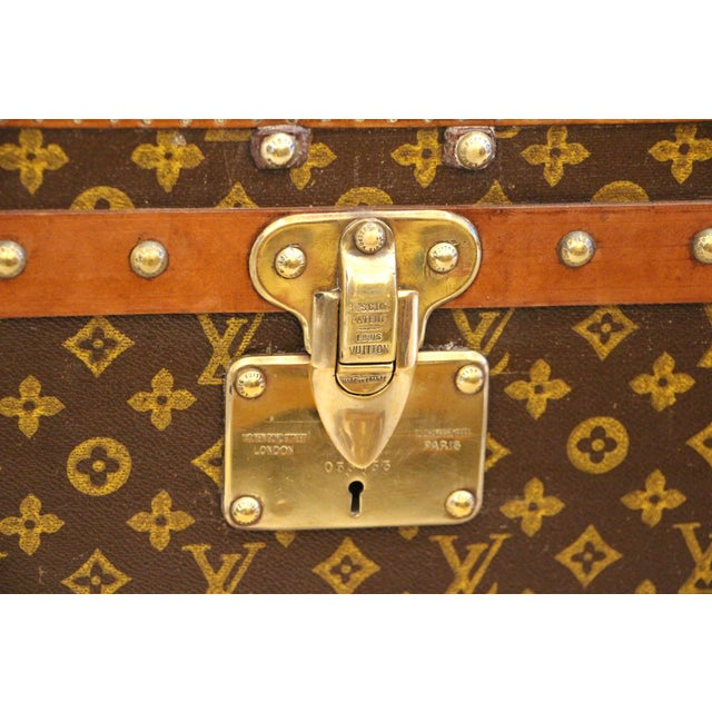 Louis Vuitton Monogram Steamer Trunk For Sale - Image 10 of 12