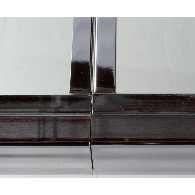 Chromed Steel Parsons Style Dining Table By Milo Baughman - Image 7 of 8