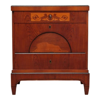 19th Century Danish Empire Chest Of Drawers For Sale