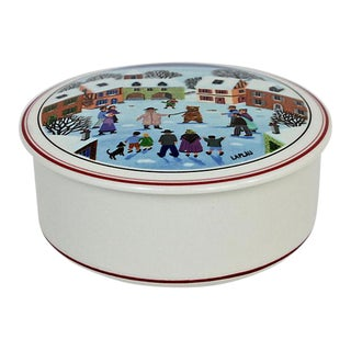 Villeroy & Boch Vitreous Porcelain Box For Sale