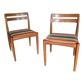 Mid Century Modern Arne Vodder Chairs- A Pair For Sale