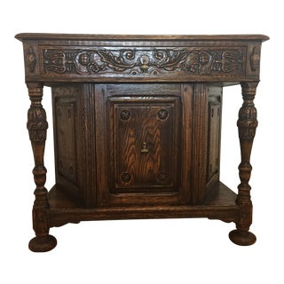 Jamestown Lounge Co. Feudal Oak Sideboard