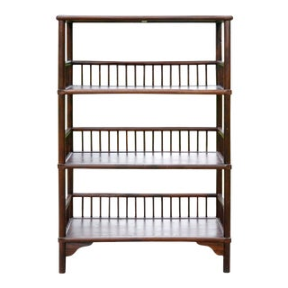 Chinese Chippendale Style Bookcase For Sale