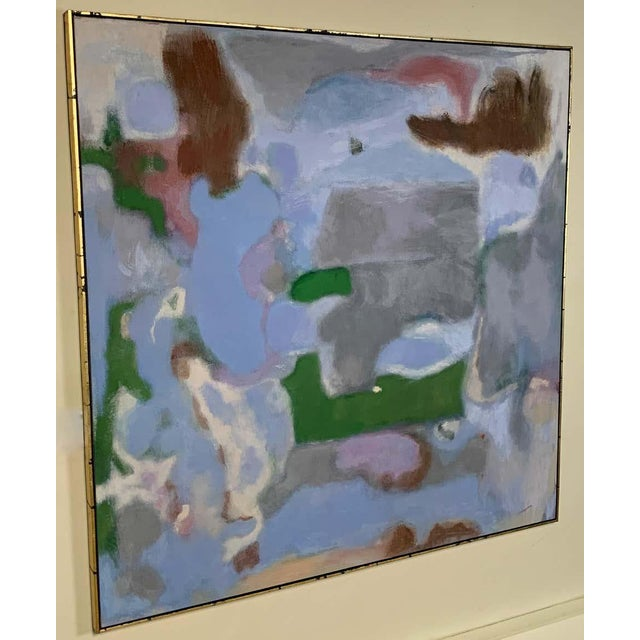 Mark Rothko Abstract Painting in the Style of Mark Rothko For Sale - Image 4 of 12