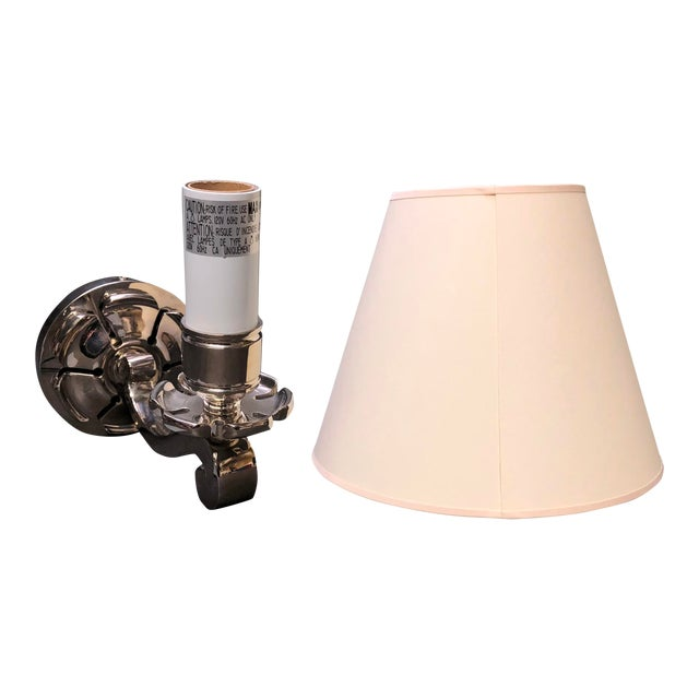 "Circa Lighting/Visual Comfort Alexa Hampton ""Bing"" Single Arm Sconce For Sale"