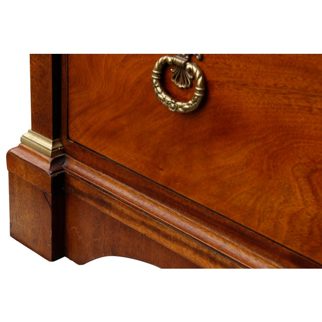 Brown Henredon Historic Natchez Collection Chest of Drawers For Sale - Image 8 of 11