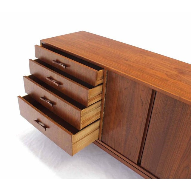 Early 20th Century Mid-Century Modern Walnut Sideboard For Sale - Image 5 of 6