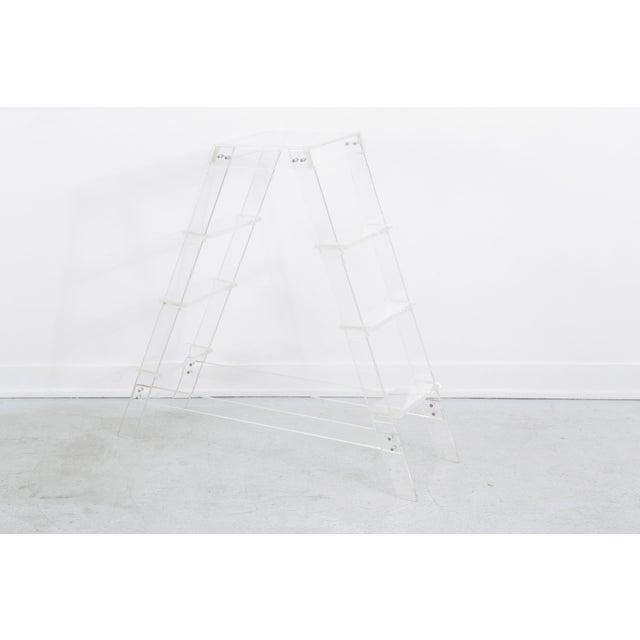 Modern Lucite Ladder For Sale - Image 3 of 7