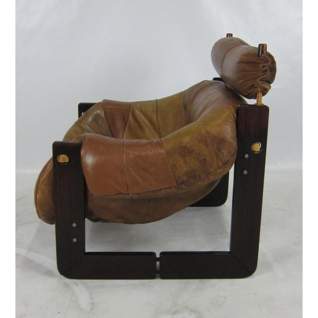 Percival Lafer Rosewood Lounge Chair by Percival Lafer For Sale - Image 4 of 7