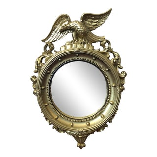 Federal Style Convex Mirror For Sale