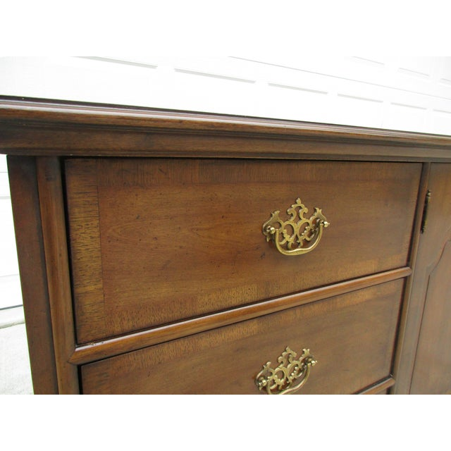 Century Furniture Century Furniture Chippendale Style Dresser For Sale - Image 4 of 11