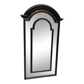 Vintage Black & Gold Frame Mirror
