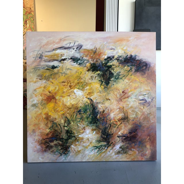 """Acrylic Painting on Canvas Titled: """"Summer Glow"""" For Sale - Image 9 of 10"""