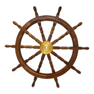 Nautical Large Ship's Helm
