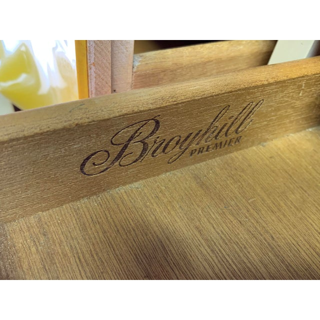 Rare Mid Century Modern Broyhill Premier Chapter One Desk For Sale - Image 10 of 11