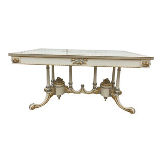 100% Made in Italy by Caspani Tino Part of the Sky Collection -- Dining Table For Sale