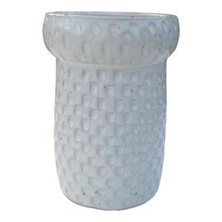 Boho Chic Scalloped Utensil Bud Vase III For Sale