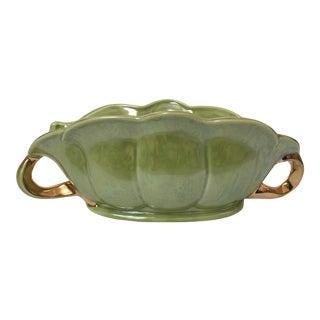 Chartreuse Green Flower Vase For Sale