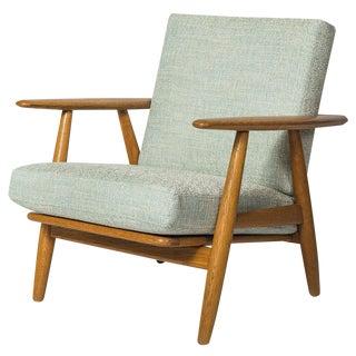 """Hans Wegner GE-240 """"Cigar"""" Chair For Sale"""