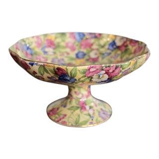 Royal Winton Sweet Pea Pattern Chintz Raised Bowl