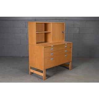 Danish Modern Oak Bookcase Unit and Chest Preview