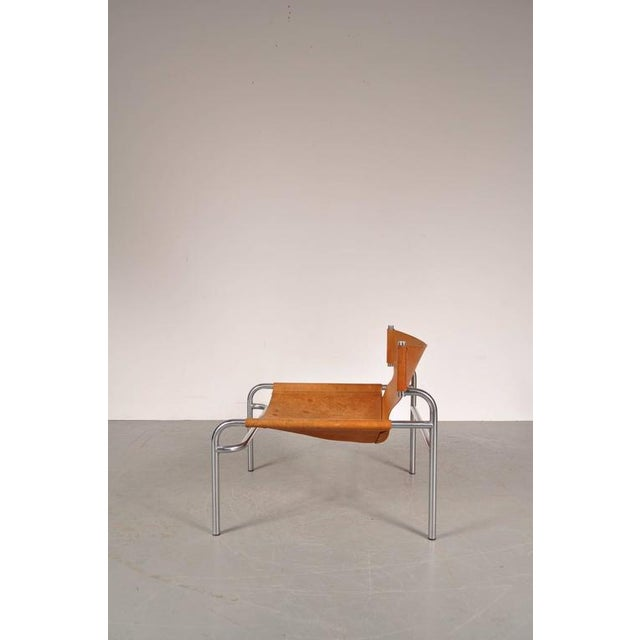 """Lounge Chair """"sz12"""" by Walter Antonis for Spectrum, Netherlands, circa 1970 - Image 5 of 9"""