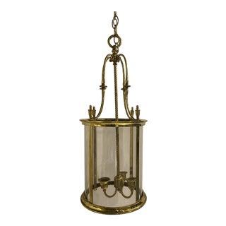 1920s English Brass Lanterns For Sale