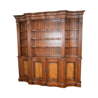 Hooker Furniture Seven Seas Collection Credenza Architectural Bookcase Hutch